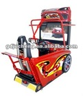 Crazy,hot sale and popular amusement equipment in guangzhou, china.arcade racing simulator game machine -- 3D Outrun
