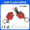 4G Promotional leather usb