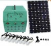 70W Portable solar power generator systems