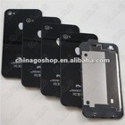 For iPhone 4 Back Glass Battery Cover Housing Replacement Black