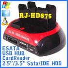 ESATA Dual Bay Use Out PC SATA/IDE Hdd Docking Station