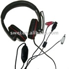 For ps3/xbox360/PC/wii 4in1 Stereo headset