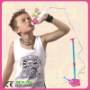 music player plastic microphone toy