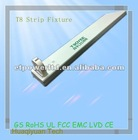 For T8 Led tubes simple white color Linear led light fixtures indoor