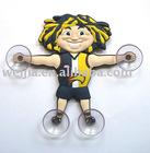 figurine/window decoration/suction up/window sticker