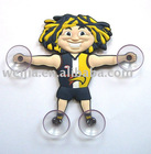 figurine/window decoration/suction up/window sticker