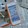 silicone bumper frame case for iphone 5