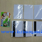 Double Sided Inkjet Printing White/Magnetic strip/smart card