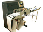 Paper Adhesive label sheeting machine/Label converting finishing/Turret rewinder optional/RGS-330 Slitter Rewinder Machine/