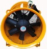 400mm yellow hand carrying portable propeller fan