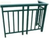 powder coated handrail aluminium profile