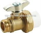 brass valve PPR pipe