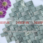 XMD007J1 2.5 Green Interlace Mable Tile