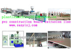 pvc foam board making machinery