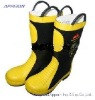 High quality knee-high Fire Fighting Boots