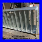 Hot Dipped Galvanized Metal Traffic Barrier