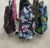 spring 2012 new style folding shopping trolley 60L