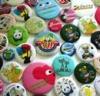 tin badge button