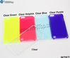 Plain Cover Clear Plastic Hard Case for iPod iTouch 5