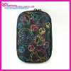 colorful silk pattern nylon camera bag