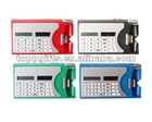 promotional plastic calculator pen with name card holder