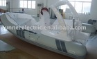 CE approved Rib Boat 5.8m with FRP hull