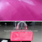 polish PVC synthetic leather for handbags