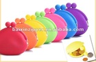 Hot Selling Colorful Fashion Silicone Coin Case Bag
