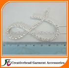 7mm Rhinestone letter Cake Toppers