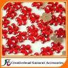 flower flat back acrylic rhinestones