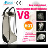 Newest V8 vacuum RF roller cavitation slimming beauty equipment
