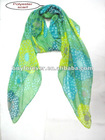 lady's scarf with sunshine flower