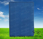 blue flannel 6-ring binder spiral notebook with printing logo