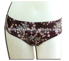 Classical printed thong style hipster