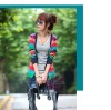 2011 ladies' fashion knitted coat