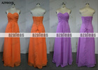 AZRB005 Strapless Bridesmaid Dresses