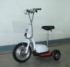 steel frame 3 wheel zappy e scooter
