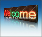 P16 led double color moving message sign