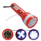 High Focus 9 LED Rechargeable LED Flashlight