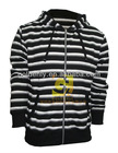 MEN'S TERRY FLEECE JACKET WITH HOOD