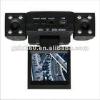 car dvr camera recorder with two camera