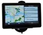HD bluetooth 128M RAM 800 x 480 free 4gb memory mp3 mp4 map 5 inch Car GPS
