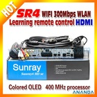 NEWEST Improved with Best Quality Sunray4 With Three-in-One DVB-S2/C/T Tuner, Add Wifi Fuction