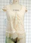 ladies lace shirt chiffon rufffle garment