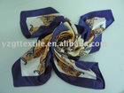 100% silk square scarf