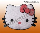 Towel embroidery patch/sew on patch /Hellokitty emblem