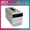 MCH-303B, 0-30V/0~3A variable,single output, w/5V2A fixed adjustable dc power supply