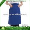 2012 super quality blue color 100% nylon unisex chef apron
