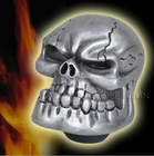 Crazy Custom Human Skull Stick Shift Gear Shifter Knob - Car Truck Universal
