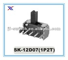 3 pin micro switches and slide switches Sk-12D07(1P2T)